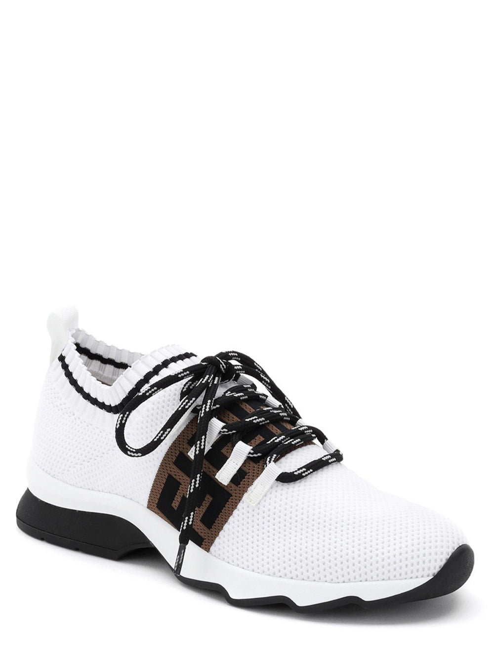 Fendi FF Low Sock Sneakers