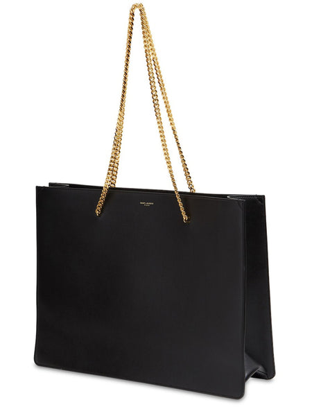 Shopping Chic Leather Tote 3/4