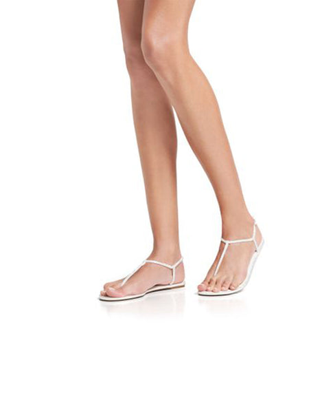 Flat Jewel Sandals Diana