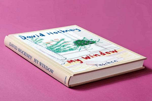 My Window, David Hockney (Cover and Binding)
