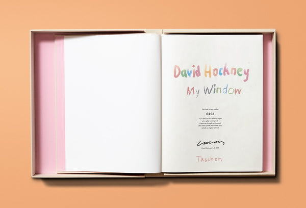 My Window, David Hockney (Edition Page)