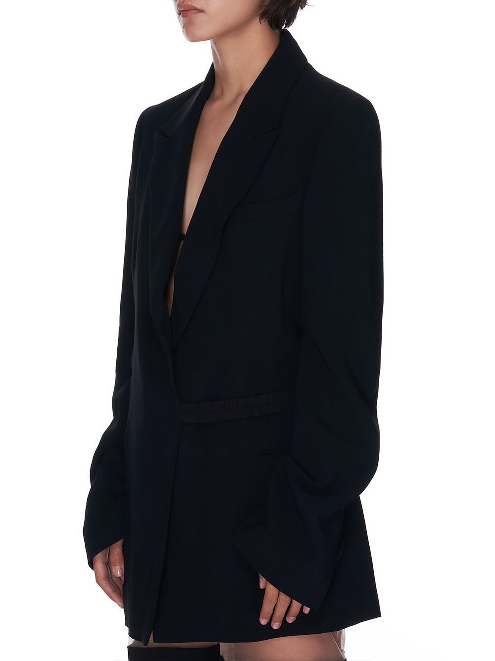 Tailored Belted Jacket