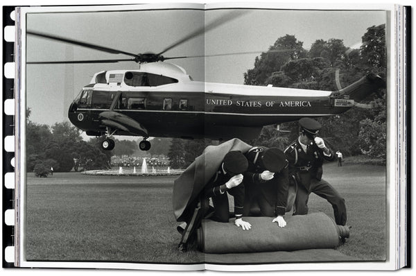 Richard Nixon leaving the White House after his resignation as President, Washington, D.C., 1974 Photo © Annie Leibovitz