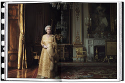 Queen Elizabeth II, The White Drawing Room, Buckingham Palace, London, 2007 Photo © Annie Leibovitz
