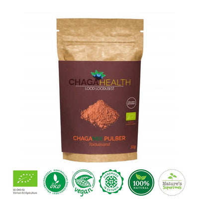 Chaga & Pinebud mix-body cleanse superfood powder-BoostandCleanse
