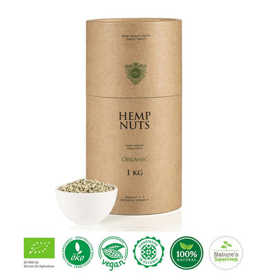 Organic Hemp Nuts-body cleanse superfood powder-BoostandCleanse