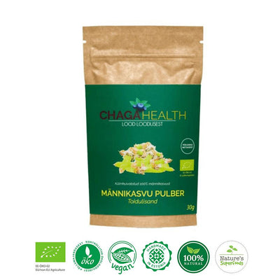 Organic Pine Bud Powder-body cleanse superfood powder-BoostandCleanse