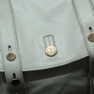 Bolso blanco cuerno Yves Saint Laurent