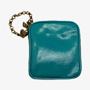 Monedero azul Yves Saint Laurent