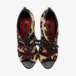 Sandalias animal print Carolina Herrera