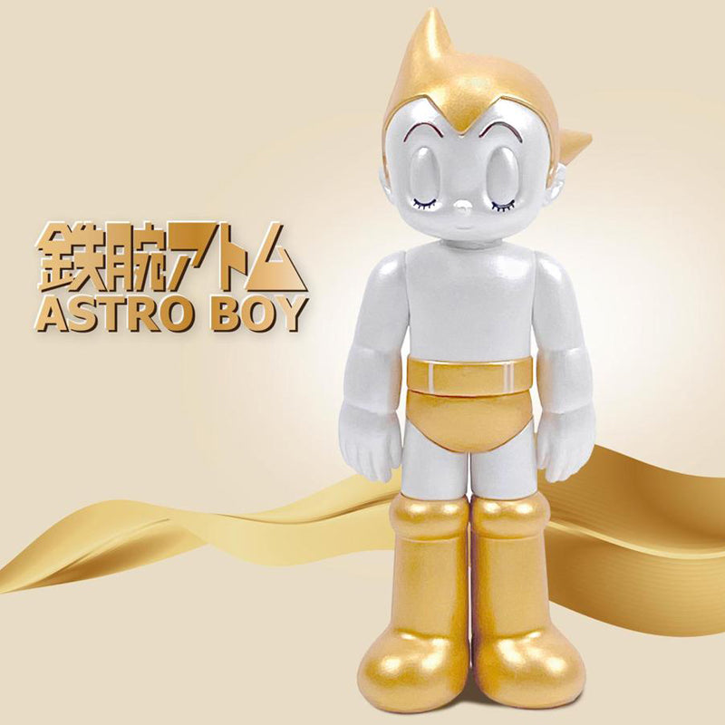 Astro Boy PVC Closed Eyes - Set of 2 (Gold & Silver)