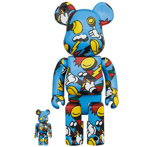 BE@RBRICK GRAFFLEX 100% & 400% SET