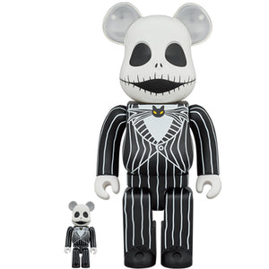 BE@RBRICK Jack Skellington 100% & 400% SET