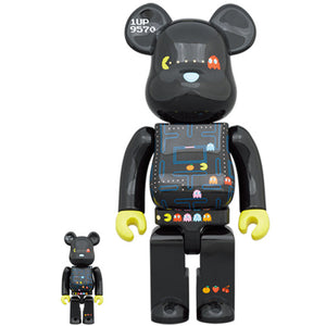 BE@RBRICK PAC-MAN 100% & 400% Set