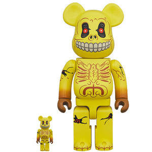 BE@RBRICK Skull Face 100% & 400% Set