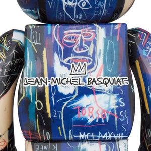BE@RBRICK JEAN-MICHEL BASQUIAT #7 100% & 400% Set