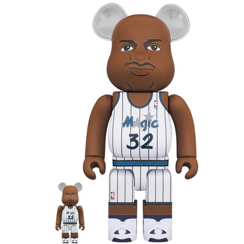 BE@RBRICK Shaquille O'Neal (Orlando Magic) 100% & 400% Set