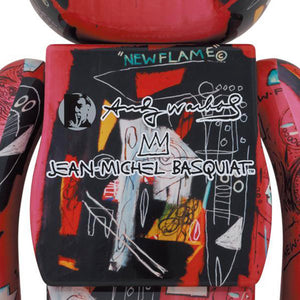 BE@RBRICK Andy Warhol x Jean-Michel Basquiat #1 1000%