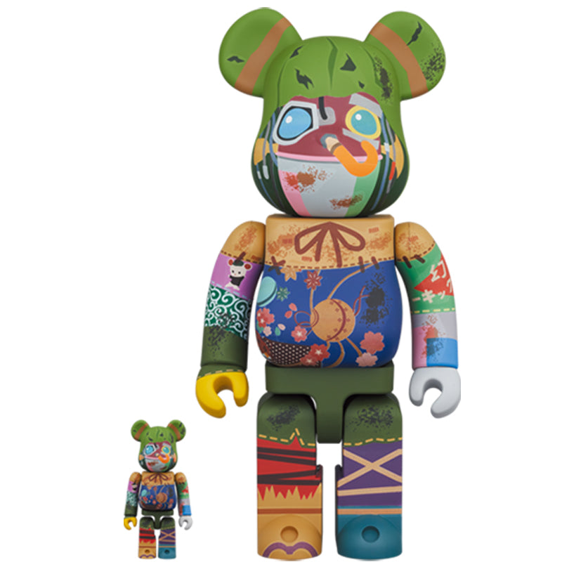 BE@RBRICK Poupelle 100% & 400% Set