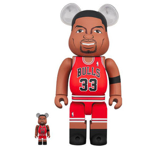 BE@RBRICK Scottie Pippen(Chicago Bulls)100%&400% set