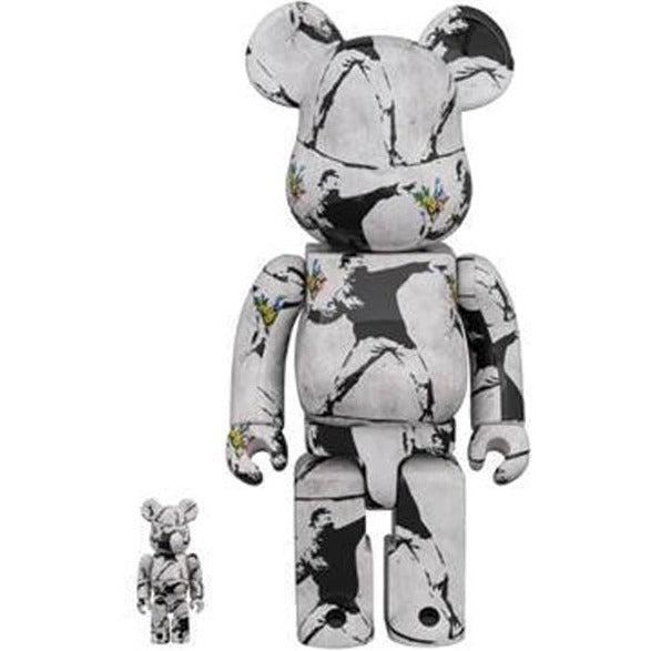 BE@RBRICK FLOWER BOMBER 100% & 400% set