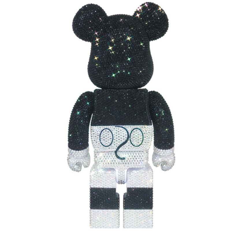 BE@RBRICK SWAROVSKI(R) CRYSTALS DECORATE MICKEY MOUSE 400%