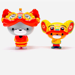 Chibi Tom and Jerry (Traditional Lion Dance Set)