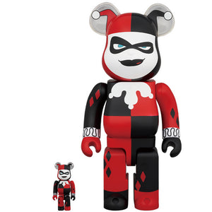 BE@RBRICK Harley Quinn (Batman the Animated Series Version) 100%&400% set