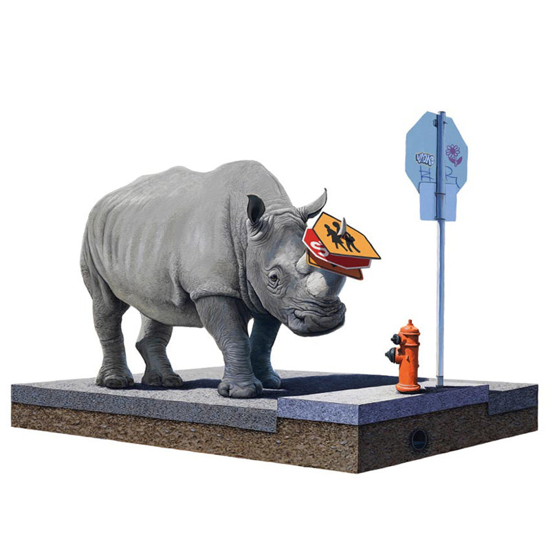 Josh Keyes - The Collector