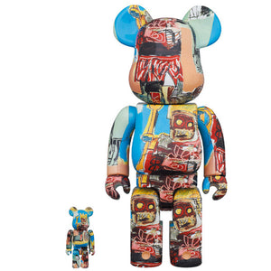 BE@RBRICK Jean Michel Basquiat Vol.6 100% & 400%