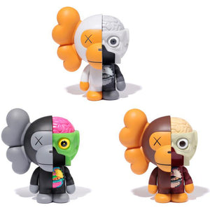 KAWS Dissected Milo set of 3