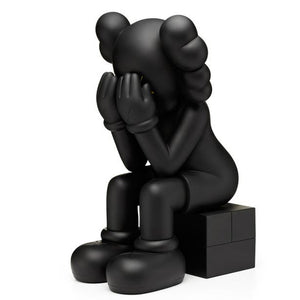 KAWS Passing Through | Black