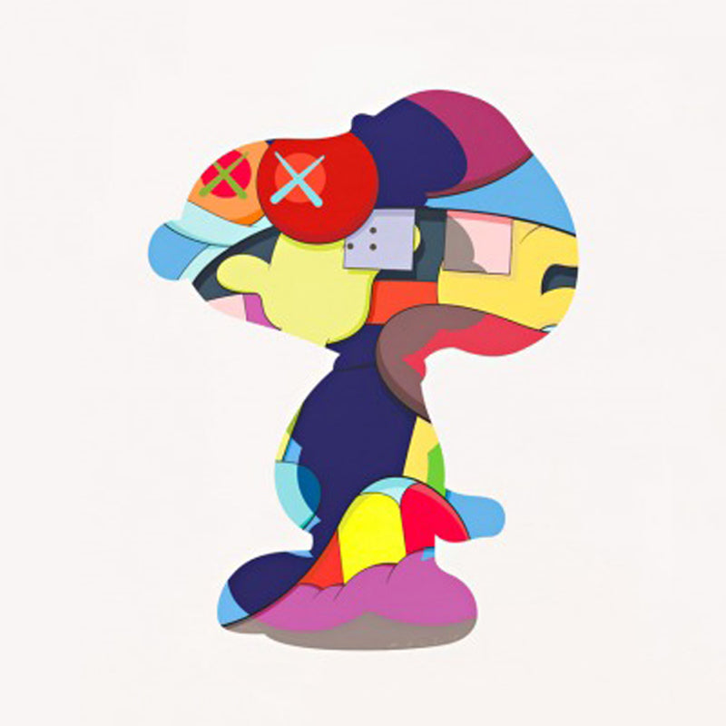 "KAWS ""NO ONE'S HOME"" Print"