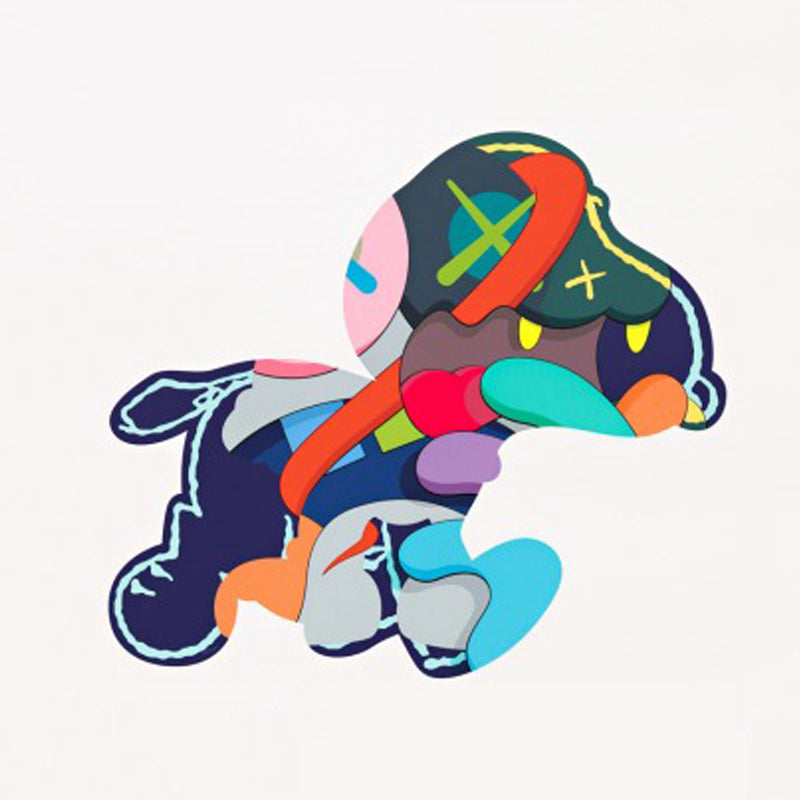 "KAWS ""STAY STEADY"" Print"