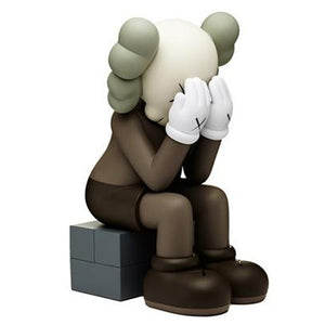 KAWS Passing Through | Brown
