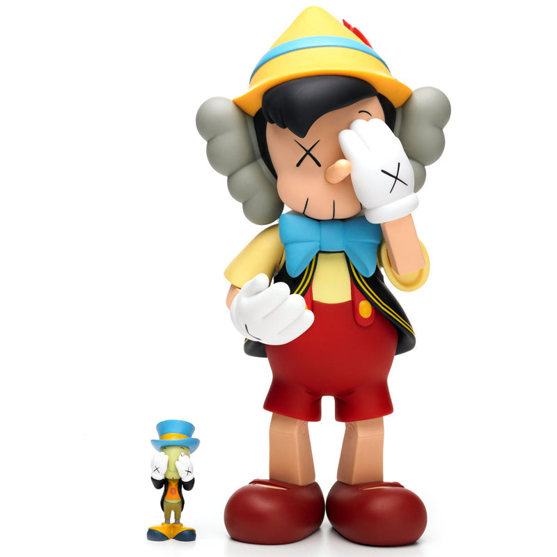 KAWS Pinocchio and Jiminy Cricket