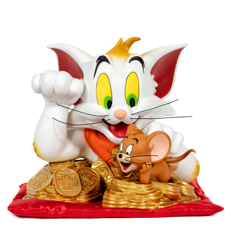 "Tom and Jerry Bust - Maneki-Neko Ver. ""The Lucky Cat"""