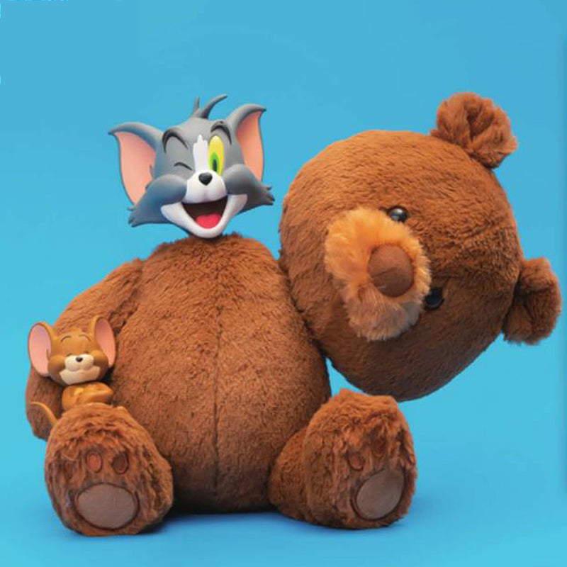 Tom & Jerry Teddy Bear Plush Figure