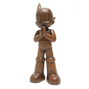 Astro Boy Greeting - Wooden Version