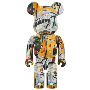Jean-Michel Basquiat 1000% Bearbrick