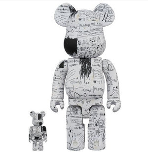 BE@RBRICK Jean-Michel Basquiat No. 3 100% & 400% Set