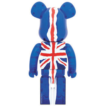 BE@RBRICK God Save the Queen Clear Ver. 100% & 400%
