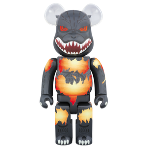 BE@RBRICK Godzilla 1000% (Desgodzi Burning Ver.)