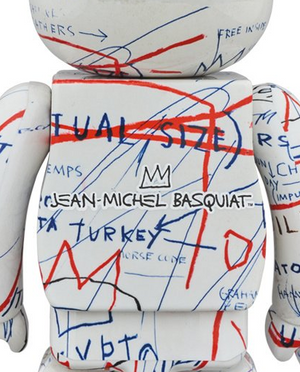 BE@RBRICK Jean-Michel Basquiat Vol.2 1000%