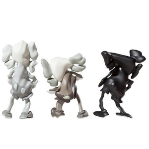 KAWS x Robert Lazzarini Distorted Companion Set of 3