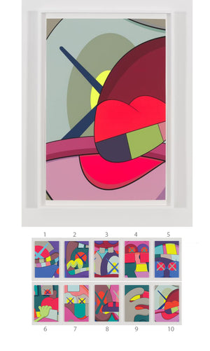 "KAWS ""UPS AND DOWNS"" Print #10"