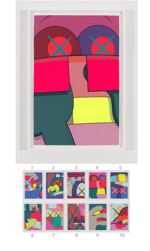 "KAWS ""UPS AND DOWNS"" Print #4"