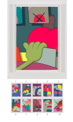 "KAWS ""UPS AND DOWNS"" Print #6"