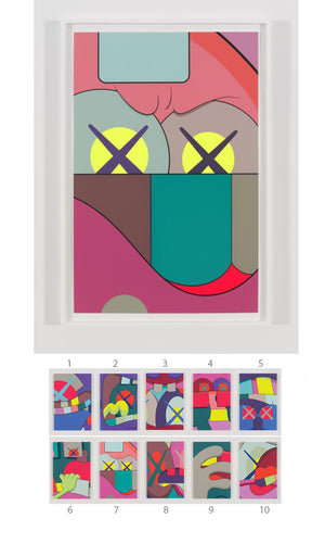 "KAWS ""UPS AND DOWNS"" Print #7"