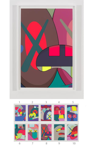 "KAWS ""UPS AND DOWNS"" Print #8"